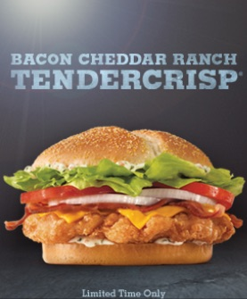 TenderCrisp Bacon Cheddar Ranch
